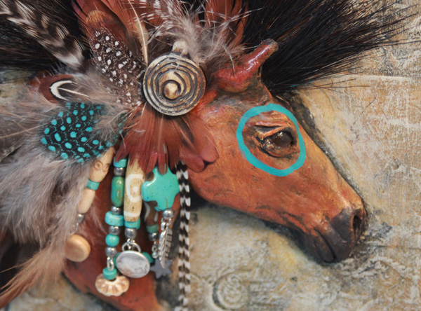 Native American Horse Spirit Symbol